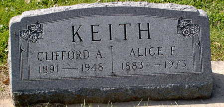 KEITH, ALICE FRANCES