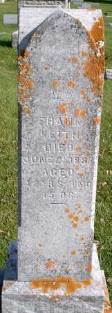 KEITH, FRANKLIN PIERCE - Floyd County, Iowa | FRANKLIN PIERCE KEITH