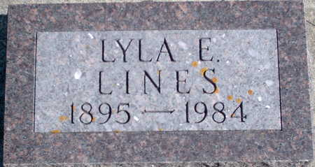LINES, LYLA EARNESTINE - Floyd County, Iowa | LYLA EARNESTINE LINES