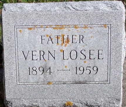 LOSEE, IRA VERN - Floyd County, Iowa | IRA VERN LOSEE