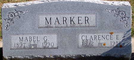 MARKER, CLARENCE EUGENE - Floyd County, Iowa | CLARENCE EUGENE MARKER