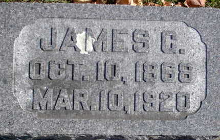 MARKER, JAMES GRANT - Floyd County, Iowa | JAMES GRANT MARKER