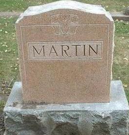 MARTIN  (FAMILY), FAMILY STONE - Floyd County, Iowa | FAMILY STONE MARTIN  (FAMILY)