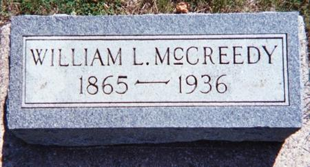 MCCREEDY, WILLIAM L. - Floyd County, Iowa | WILLIAM L. MCCREEDY