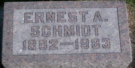 SCHMIDT, ERNEST A - Floyd County, Iowa | ERNEST A SCHMIDT