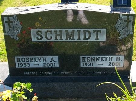 SCHMIDT, ROSELYN - Floyd County, Iowa | ROSELYN SCHMIDT