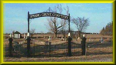 SPRING GROVE, CEMETERY - Floyd County, Iowa | CEMETERY SPRING GROVE