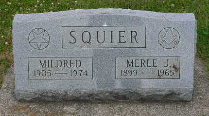 SQUIER, MILDRED - Floyd County, Iowa | MILDRED SQUIER