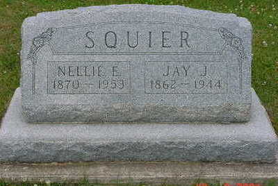 HAIN SQUIER, NELLIE E. - Floyd County, Iowa | NELLIE E. HAIN SQUIER