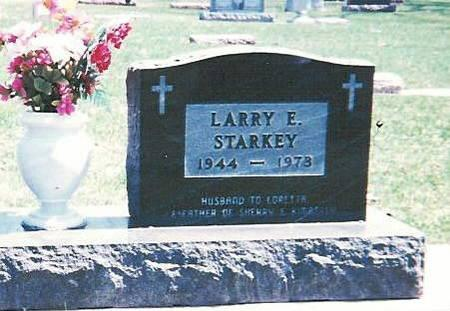 STARKEY, LARRY ERNEST - Floyd County, Iowa | LARRY ERNEST STARKEY