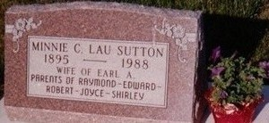 LAU SUTTON, MINNIE - Floyd County, Iowa | MINNIE LAU SUTTON