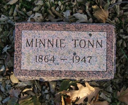 TONN, MINNIE - Floyd County, Iowa | MINNIE TONN