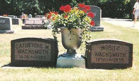 WACHSMUTH, MORITZ - Floyd County, Iowa | MORITZ WACHSMUTH