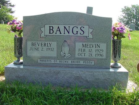 BANGS, MELVIN - Franklin County, Iowa | MELVIN BANGS