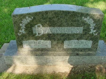 BANGS, MERLE C. - Franklin County, Iowa | MERLE C. BANGS