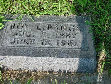 BANGS, ROY L. - Franklin County, Iowa | ROY L. BANGS