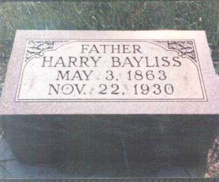 BAYLISS, HARRY - Franklin County, Iowa | HARRY BAYLISS