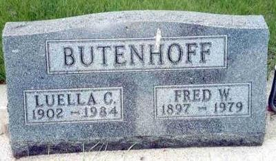 BUTENHOFF, FRED - Franklin County, Iowa | FRED BUTENHOFF