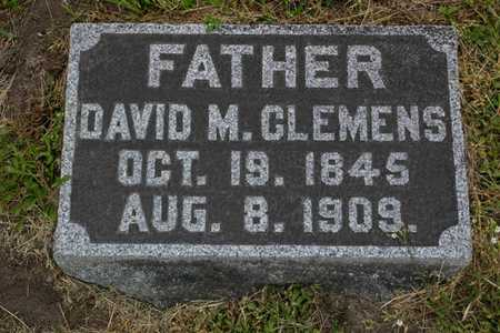 CLEMENS, DAVID M. - Franklin County, Iowa | DAVID M. CLEMENS
