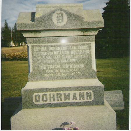 TONNE DOHRMANN, SOPHIA - Franklin County, Iowa | SOPHIA TONNE DOHRMANN