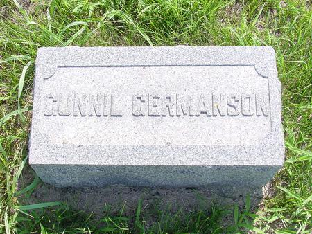 GERMANSON, GUNNIL - Franklin County, Iowa | GUNNIL GERMANSON