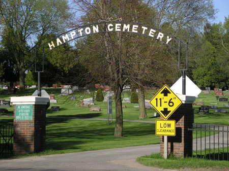 HAMPTON A.K.A. HILLSIDE, CEMETERY - Franklin County, Iowa   CEMETERY HAMPTON A.K.A. HILLSIDE