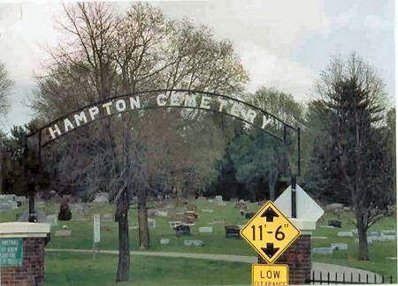 HAMPTON, CEMETERY - Franklin County, Iowa | CEMETERY HAMPTON