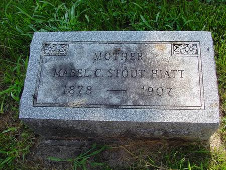 STOUT HIAT, MABEL C. - Franklin County, Iowa | MABEL C. STOUT HIAT