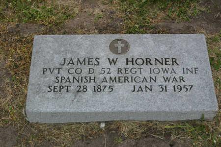 HORNER, JAMES W. - Franklin County, Iowa | JAMES W. HORNER