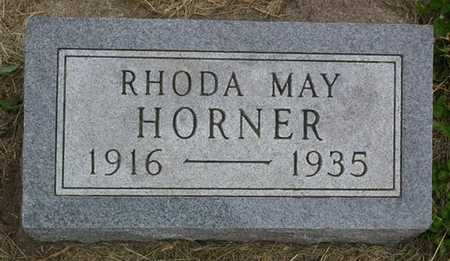 HORNER, RHODA MAY - Franklin County, Iowa | RHODA MAY HORNER