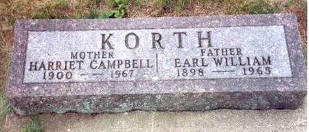CAMPBELL KORTH, HARRIETT - Franklin County, Iowa | HARRIETT CAMPBELL KORTH