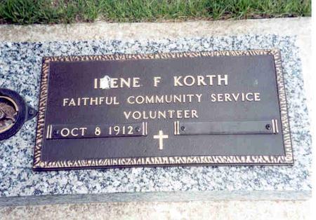 FLYNN KORTH, ETHEL - Franklin County, Iowa | ETHEL FLYNN KORTH