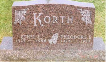 KORTH, ETHEL - Franklin County, Iowa | ETHEL KORTH