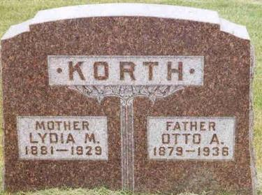 KORTH, OTTO - Franklin County, Iowa | OTTO KORTH