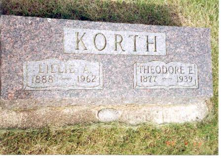 KORTH, LILLIE - Franklin County, Iowa | LILLIE KORTH