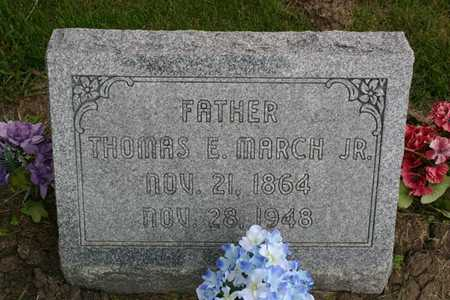 MARCH, THOMAS E. - Franklin County, Iowa | THOMAS E. MARCH