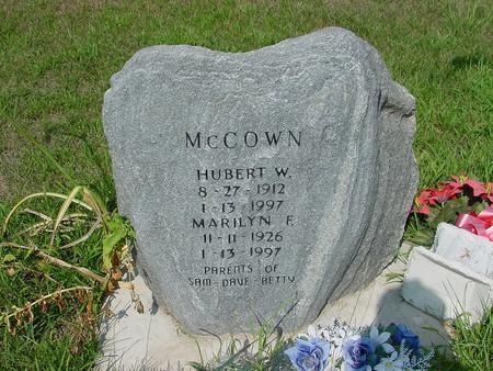 MCCOWN, MARILYN F. - Franklin County, Iowa | MARILYN F. MCCOWN