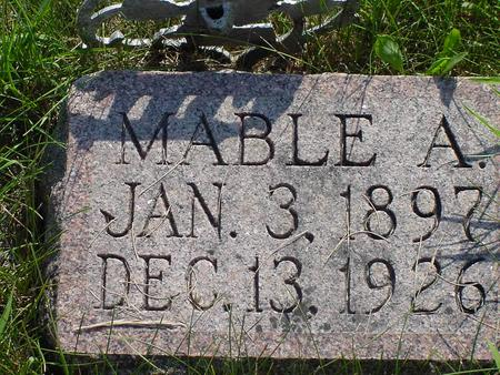 MCCOWN, MABEL A. - Franklin County, Iowa | MABEL A. MCCOWN