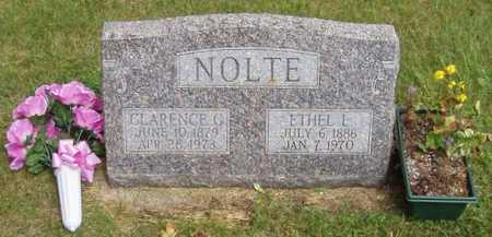 NOLTE, CLARENCE G. - Franklin County, Iowa | CLARENCE G. NOLTE