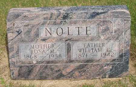 NOLTE, WILLIAM CHARLES - Franklin County, Iowa | WILLIAM CHARLES NOLTE