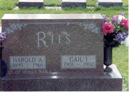 KORTH RIIS, GAIL - Franklin County, Iowa | GAIL KORTH RIIS