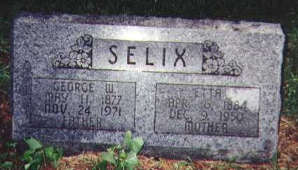 SELIX, GEORGE W. - Franklin County, Iowa | GEORGE W. SELIX