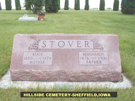 STOVER, ALICE - Franklin County, Iowa | ALICE STOVER