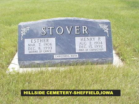 MEHLBERG STOVER, ESTHER - Franklin County, Iowa | ESTHER MEHLBERG STOVER
