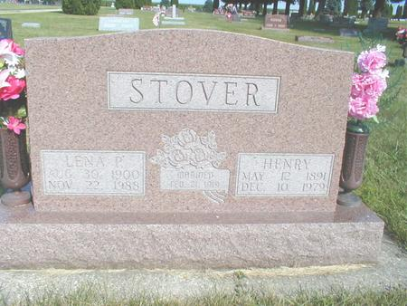 STOVER, HENRY - Franklin County, Iowa | HENRY STOVER