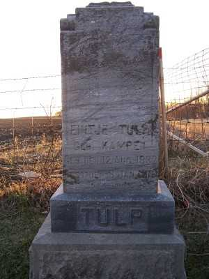 TULP, EINTJE - Franklin County, Iowa | EINTJE TULP