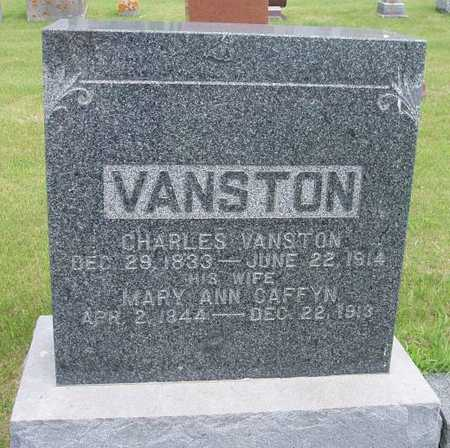 VANSTON, MARY ANN - Franklin County, Iowa | MARY ANN VANSTON