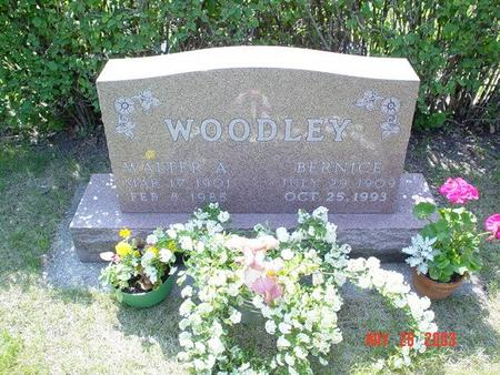 WOODLEY, WALTER A. - Franklin County, Iowa | WALTER A. WOODLEY