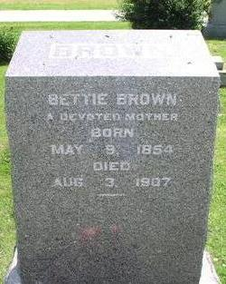 CHAPMAN BROWN, BETTIE - Fremont County, Iowa | BETTIE CHAPMAN BROWN