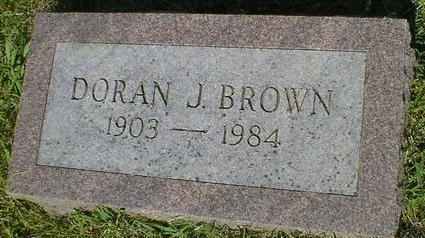 BROWN, DORAN J. - Fremont County, Iowa | DORAN J. BROWN